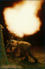 1993-Ardent-Ground15, NATO exercise, mortar night firing.