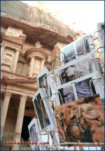 Camel Postcard, Petra (Jordan).