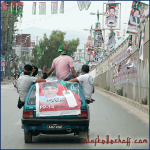 Elections, Rawalpindi (Pakistan) 2013.