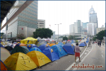 Umbrella Movement in Hong Kong, 2014.