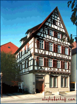 Timbered House, Nagold (Germany).
