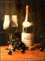 Wine Advertisement.